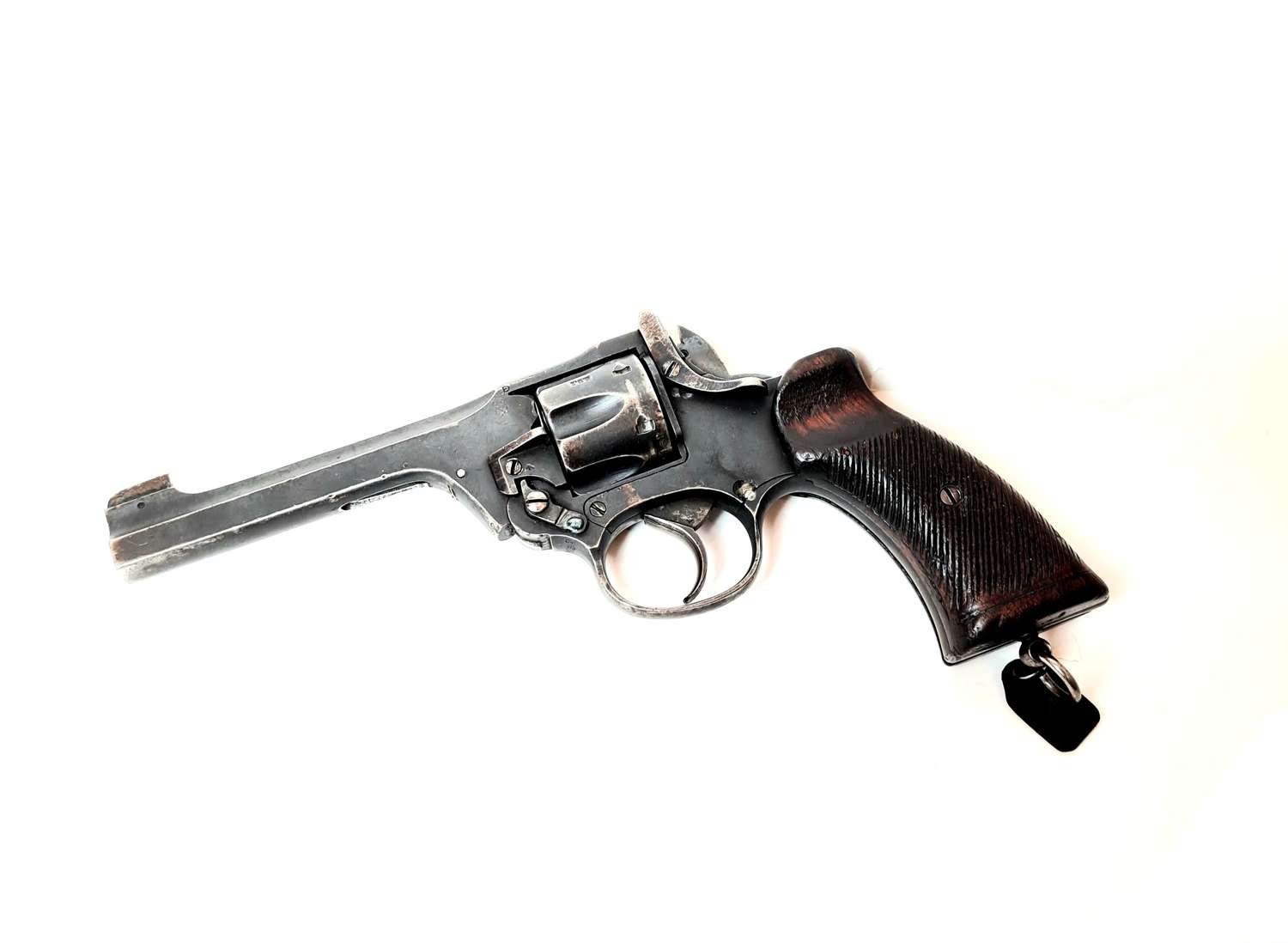 British Top-Break Revolver
