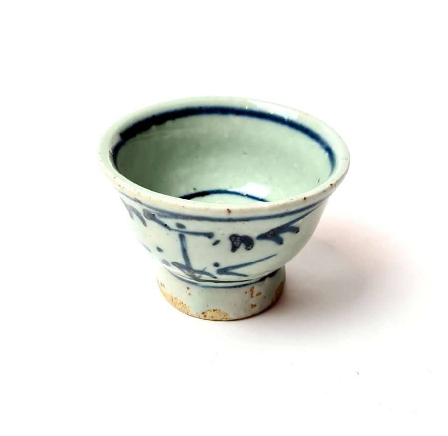Chinese Blue and White Teacup