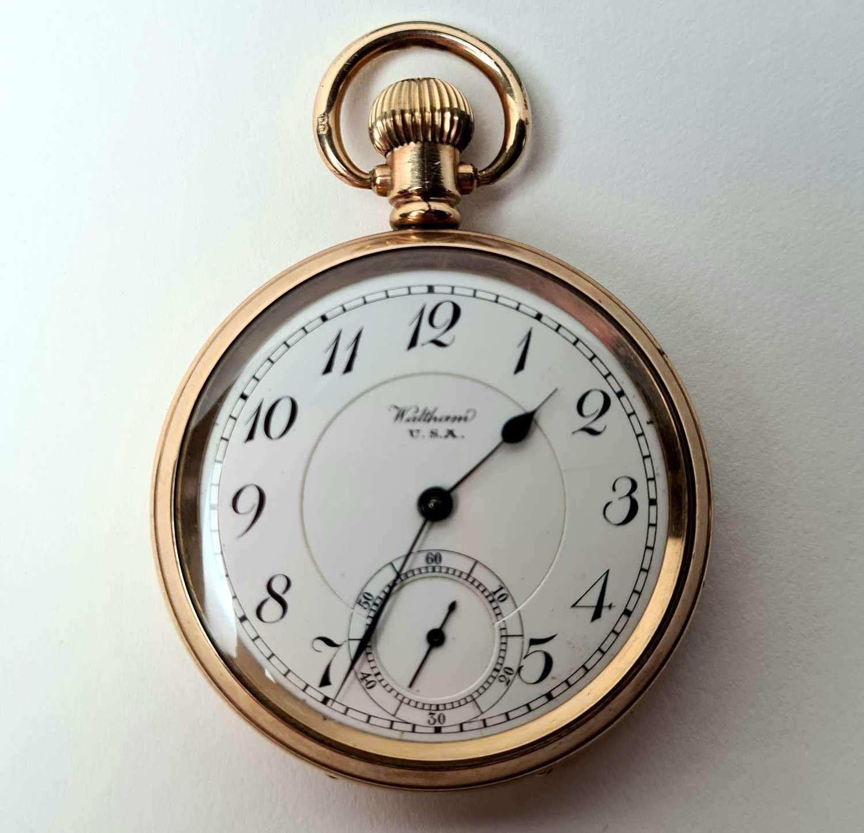 Gold Waltham Watch