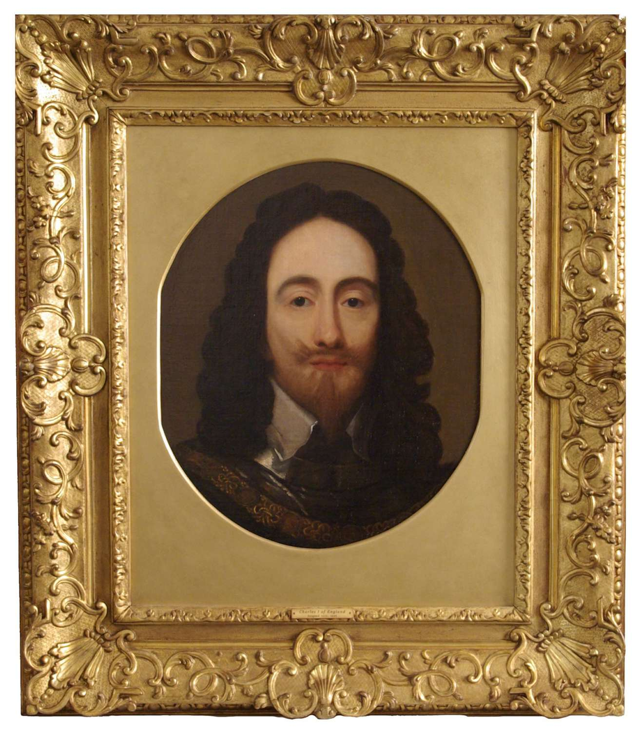 KING CHARLES I ~ AFTER SIR ANTHONY VAN DYCK