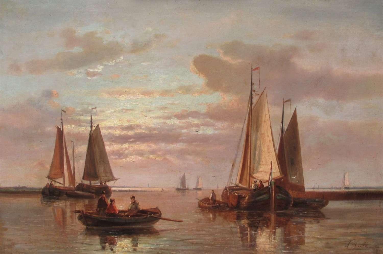 ABRAHAM HULK Snr. 1813-1897