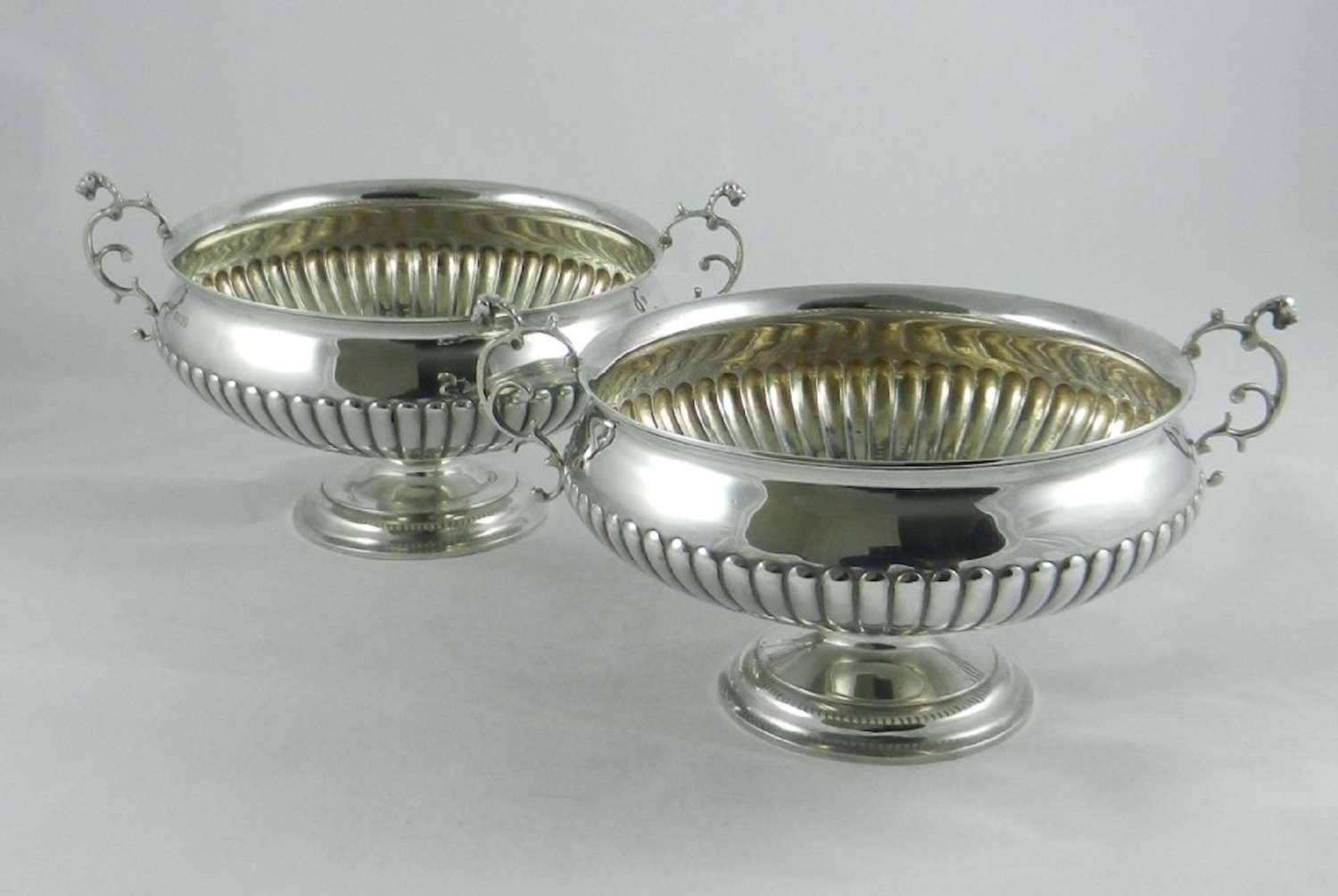 Antique Silver Bowls By Charles Stuart Harris