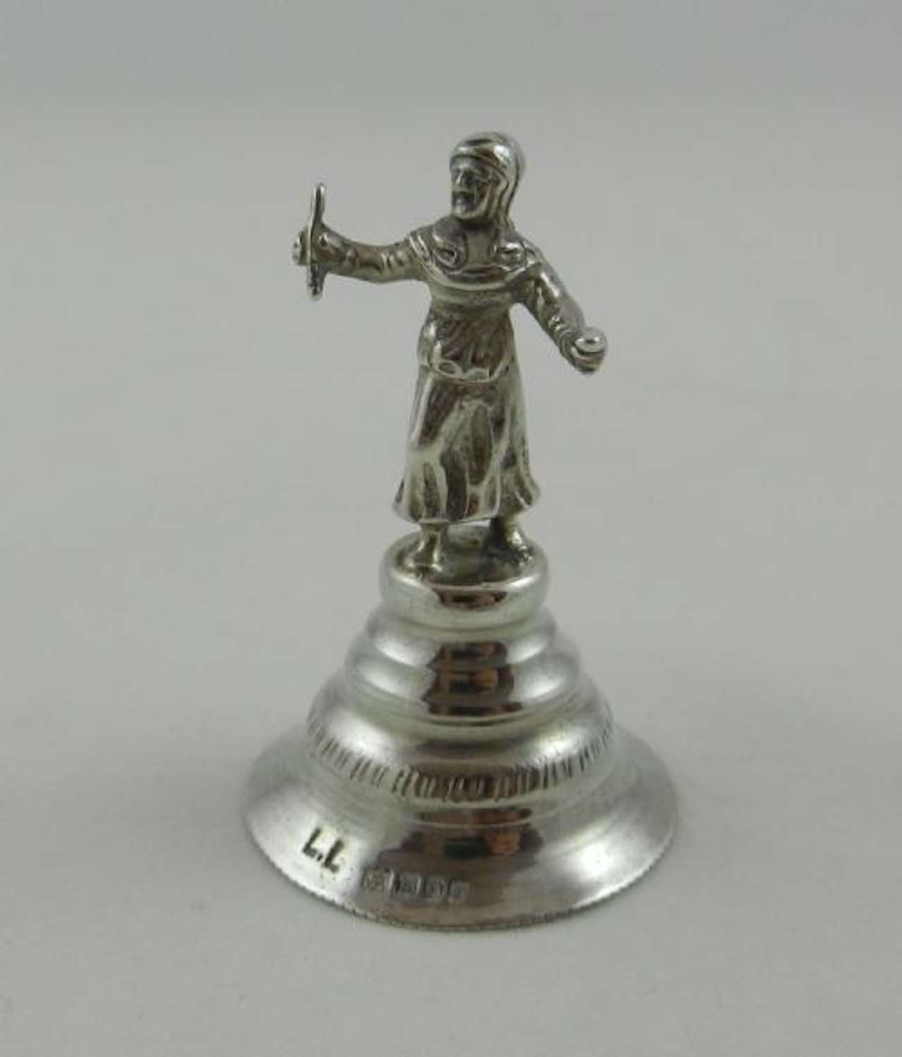 Antique Silver Bell
