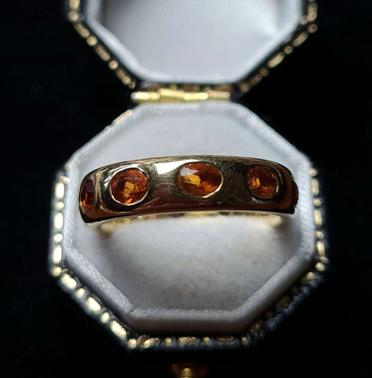 Gold and Citrine Band