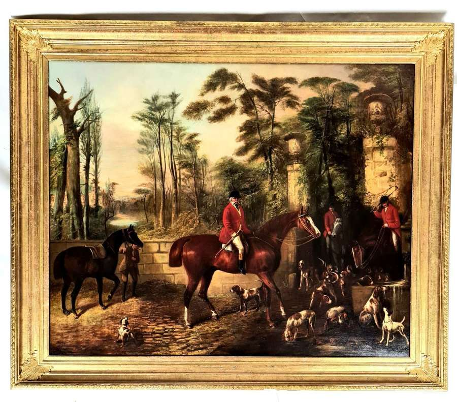 Hunting Scene by James William Cole