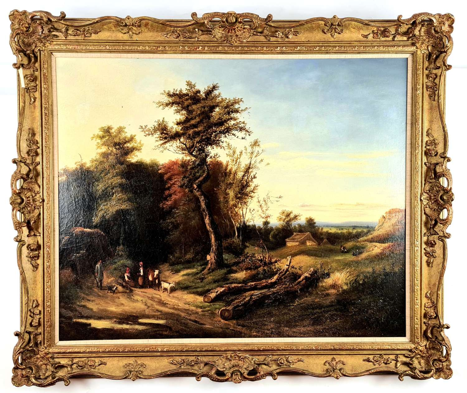 18th Century Oil Painting