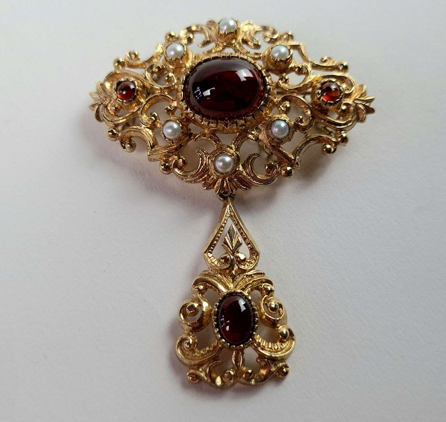 Reproduction Victorian Brooch