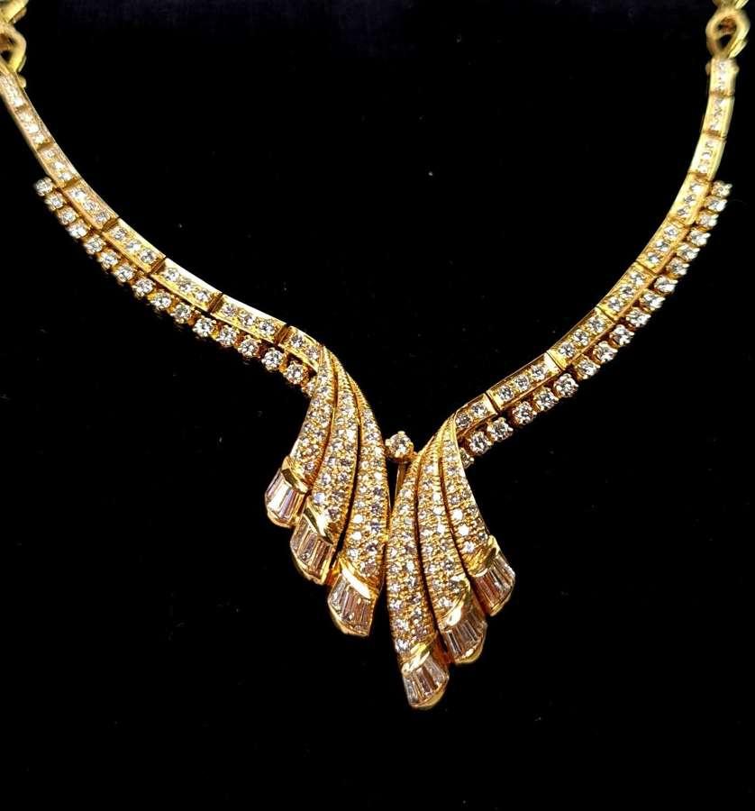 Diamond Fancy Necklace