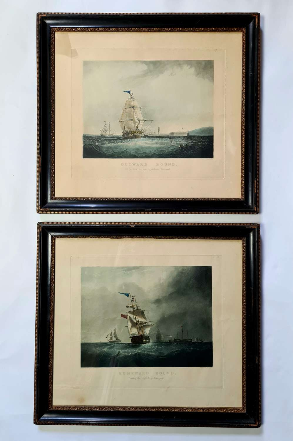 Pair of Aquatints after Samuel Walters