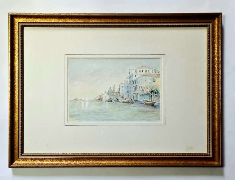 20th Century Watercolour of Venice