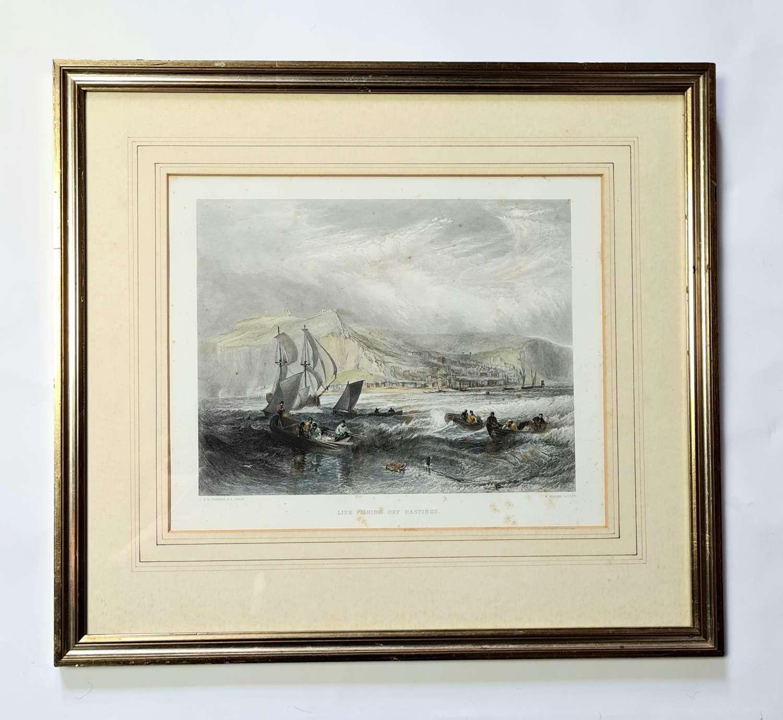 1870 Print of Hastings