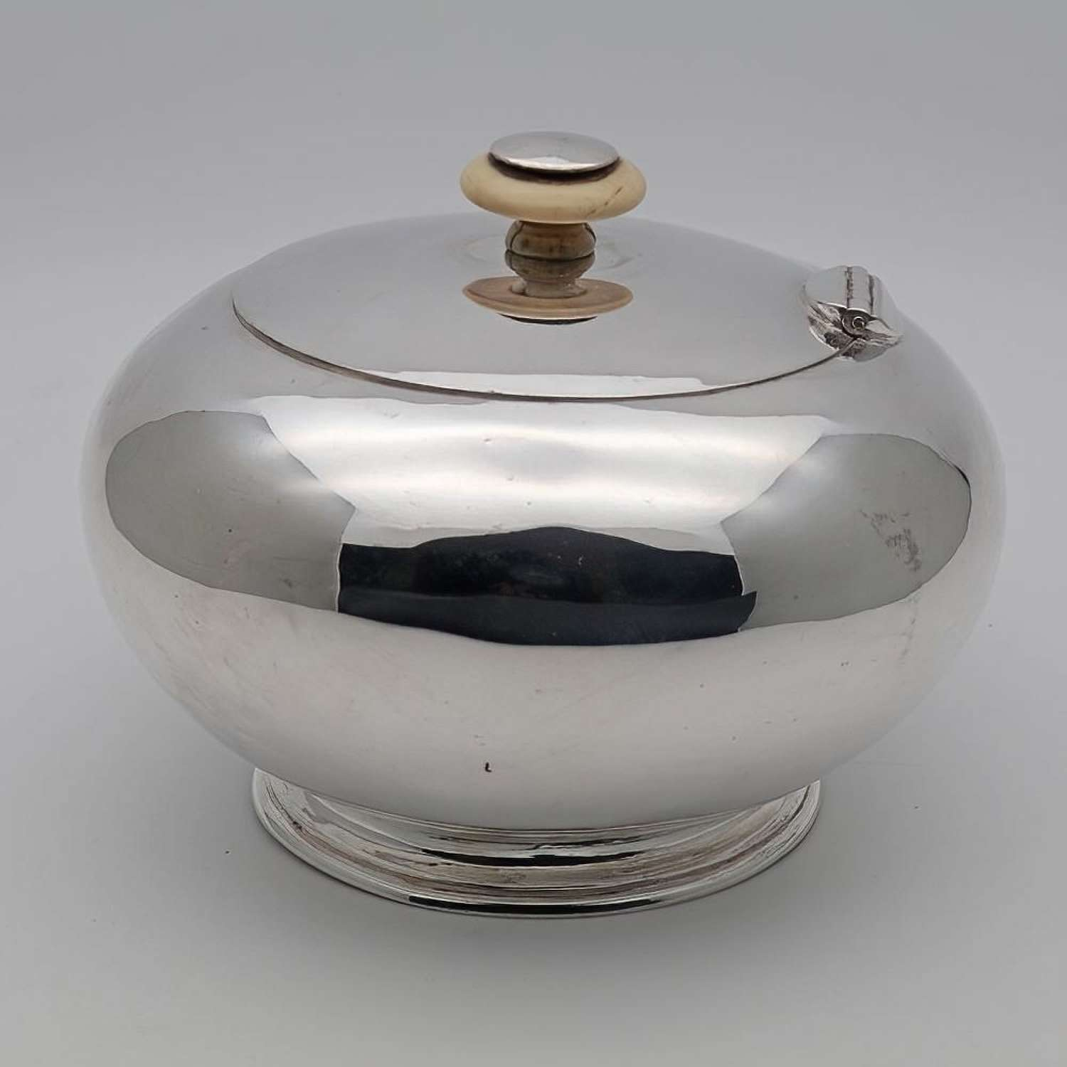 Imperial Russian Silver tea caddy
