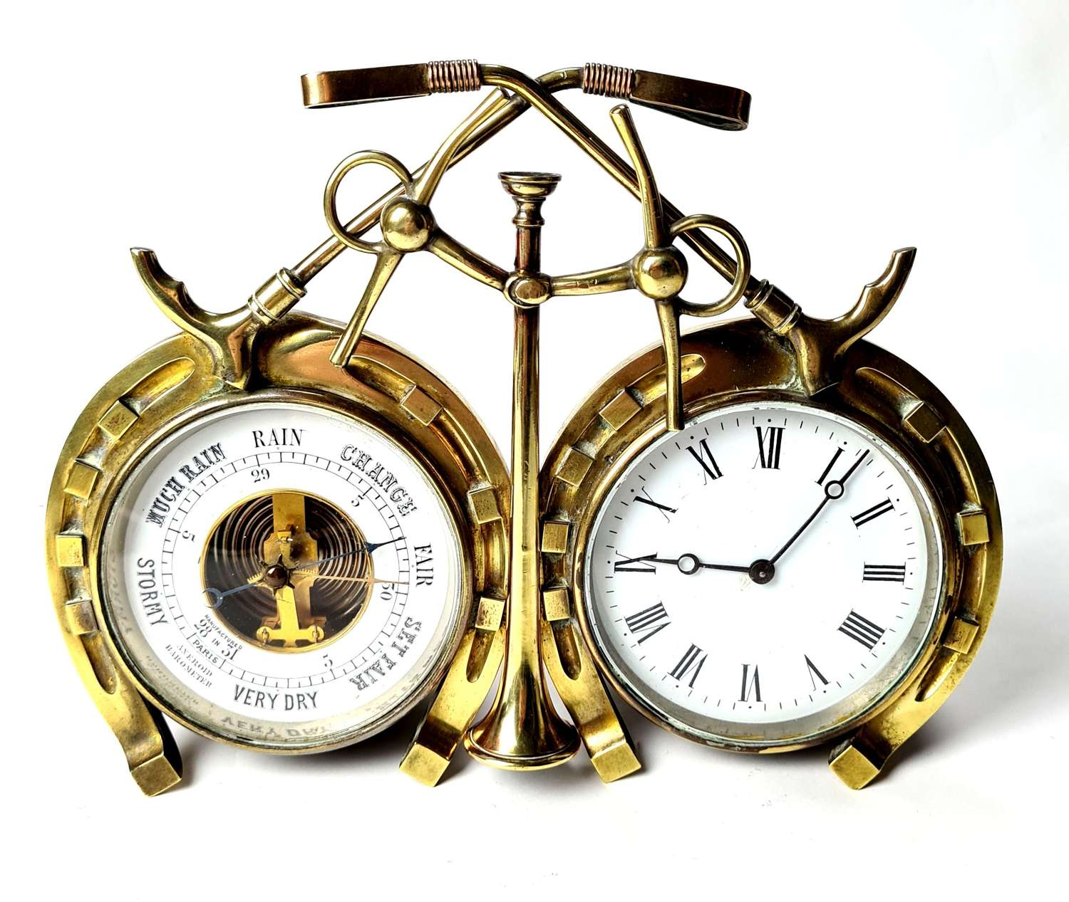 French Clock and Barometer