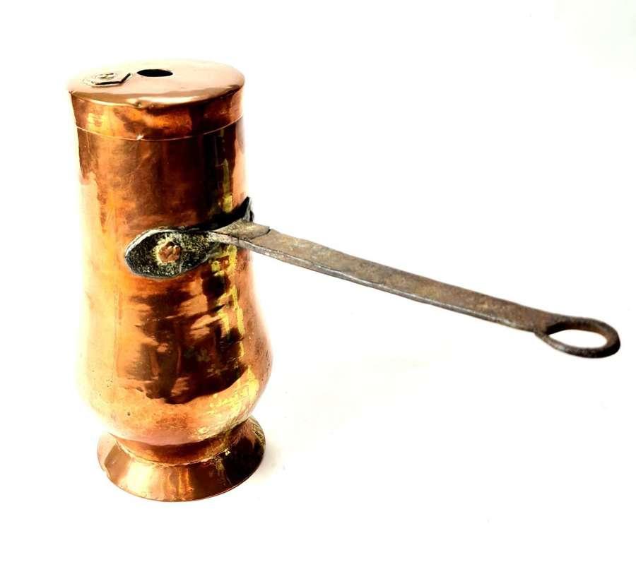 Copper Chocolate Pot