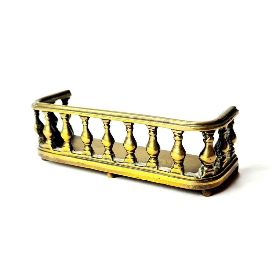 Miniature Brass Fender