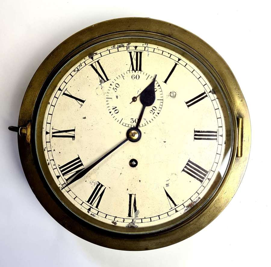 English Bulkhead Clock