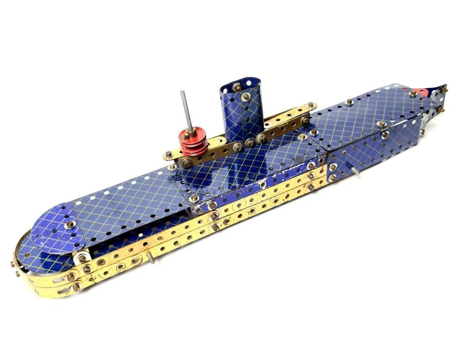 Vintage Meccano Aircraft Carrier