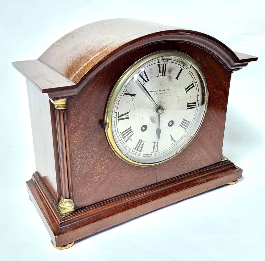 Mahogany Mantle Clock