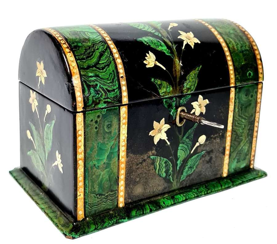 Papier Mache Stationary Box