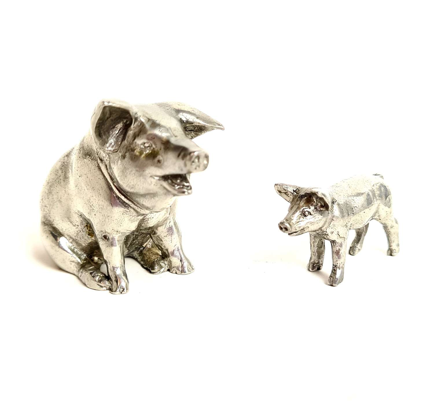 Silver Pig and Piglet