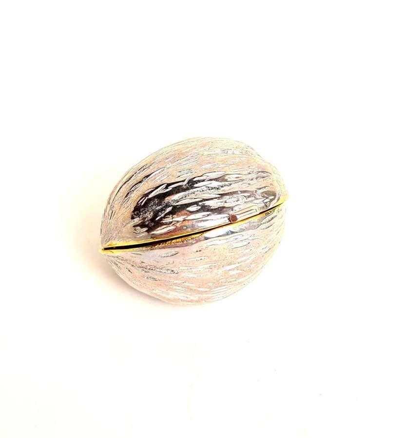 Silver Walnut Pot