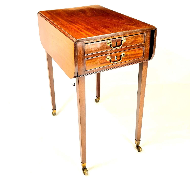 George III Drop Flap Table