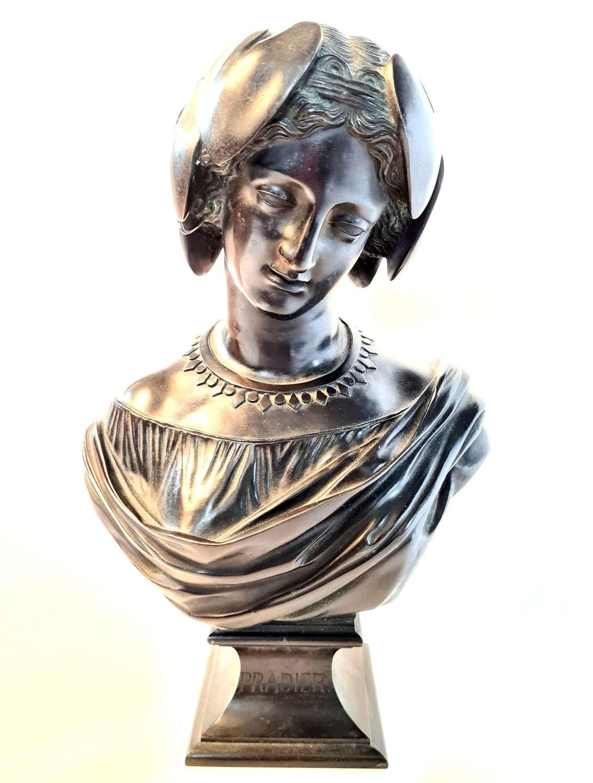 Bronze Bust of Atalanta